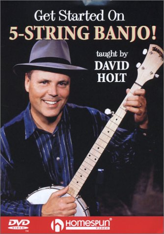 David Holt - Get Started On 5 String Banjo! [UK Import]