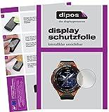 dipos I 6X Schutzfolie klar passend für Casio WSD-F20 Folie Bildschirmschutzfolie