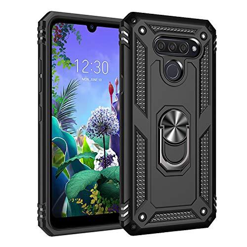 BestST LG K50 / LG Q60 Hülle 360 Grad Handyhülle Bumper Case Robust Cover [Ultra Hybrid Schutzhülle ]+ Bildschirmschutz für LG K50 / LG Q60 Schwarz