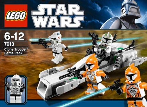 Lego Star Wars 7913 Clone Trooper Battle Pack Ebay