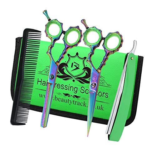Professionelles Haarscheren-Set mit Friseurschere, Friseursalon, perfekt zum Stylen von Haaren, Friseurschere, Friseurschere, Friseurschere, Friseurschere, Friseurschere, Schachtel