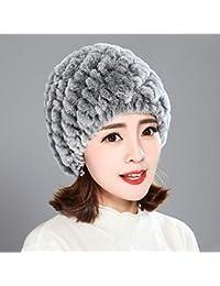 Sciarpe Xiaolin- di Mezza età Signorina Cappello Autunno E Inverno Cappello  di Mamma Cappello Caldo 8b500fe69a6a