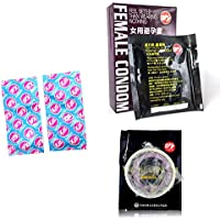 Portal Cool caliente !!!6pcs Placer Más Condón femenino 1 Caja Condones ultrafinos Contracepción femenina Productos adultos del sexo Orgasmo femenino