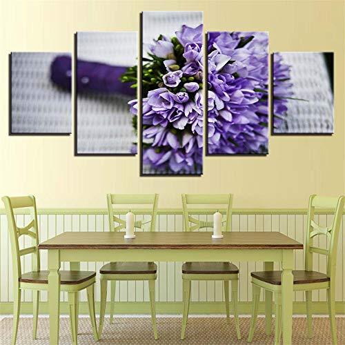 BBQBQ Dekorative Malerei,Wulian HD Sofa wandkunst malerei Inkjet Pflanze Blumen Nacht gemälde Hause wandmalereien 15 malerei Kern 10x15cmx2 10x20cmx2 10x25cmx1