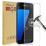 Galaxy S7 Protecteur D'écran,Solocil Samsung Galaxy S7 Verre Trempé 9H dureté Résistant aux rayures Ultra Clair Film Protection Samsung Galaxy S7