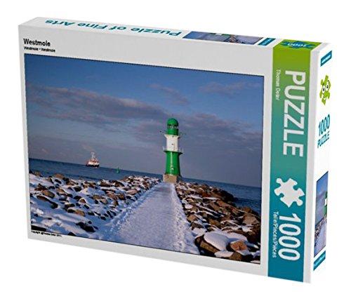 Preisvergleich Produktbild Westmole 1000 Teile Puzzle quer (CALVENDO Orte)