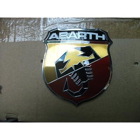 Original Fiat 500Abarth Emblema delantera emblema frontal Empresas caracteres
