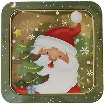 Unbekannt Weihnachts-Metalldose Pl/ätzchendose Geb/äckdose Keksdose Vorratsdose Dekodose Motiv:Motiv 2