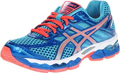 e1d2834fbf2d Image Unavailable. Image not available for. Colour  ASICS Gel-Cumulus 15  Womens Blue Narrow Running Shoes ...