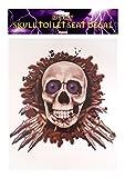 Halloween Spooky Skull/ Skeleton Toilet Seat Decoration Party Accessory