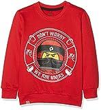 Lego Wear Jungen Sweatshirt Lego Boy Ninjago CM-73088, Rot (Red 365), 128