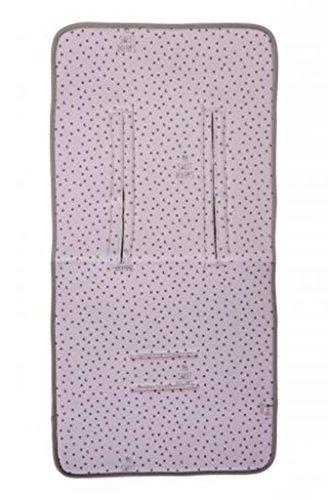 My Bag's Colchoneta para Silla de Paseo Universal para Carro de Bebé con 3 o 5 Puntos de Anclaje Diseño...