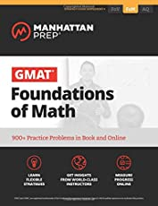 GMAT Foundations of Math (Manhattan Prep GMAT Strategy Guides)