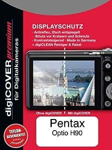 DigiCover N2459 screen protector - Screen Protectors (Pentax, Pentax Optio E90, Transparent)