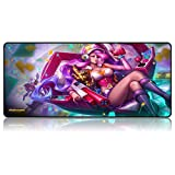 Mauspad Super Anime Sword Art Online Tokyo Ghouls can Kind of Cute Naruto One Piece Girl Girl 800 x 300 x 3 mm, 10, 800X300X3mm