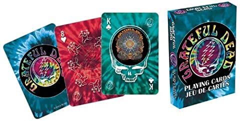 Grateful Dead Tie Dye Playing Cards by Aquarius