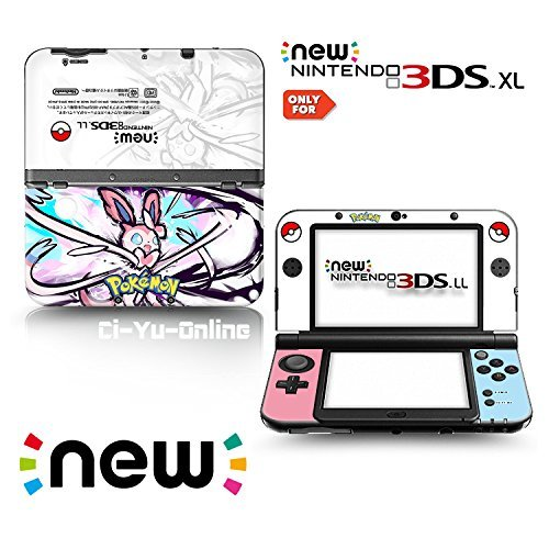 Ci-Yu-Online VINYL SKIN [new 3DS XL] - Pokemon #1 Sylveon - Limited Edition STICKER DECAL COVER for NEW Nintendo 3DS XL / LL Console System by Ci-Yu-Online (Pokemon 3ds Xl Cover)