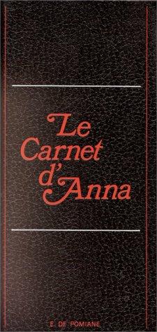 Le carnet d'Anna