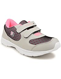 FUEL Women's Girls Velcro Closure Solid Walking Shoes, Cycling Shoes, Training & Gym Shoes, Running Shoes