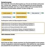 Trauringe 925 silber Paarpreis Verlobungsringe Freundschaftsringe Silberringe mit Gravur Zirkonia Verona96 Gr 62