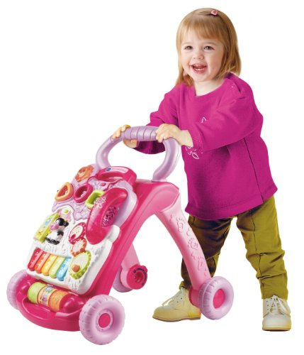 vtech mon trotteur parlant 2 en 1 rose at shop ireland. Black Bedroom Furniture Sets. Home Design Ideas
