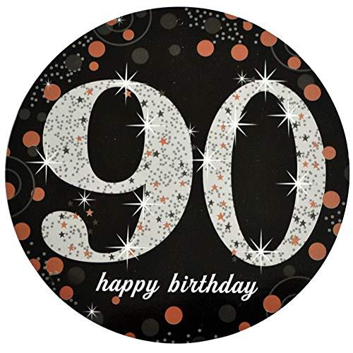 nder M?nner Frauen Schule B¨¹ro Geschenk Geburtstagsdekoration Geburtstag H?ngende Windung Deckendekor Tischdekoration f¨¹r Geburtstagsfeierdekoration 90 Jahre alt ()
