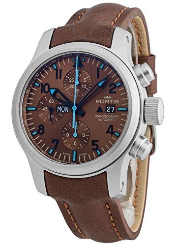 Fortis Hombre Reloj de pulsera b de 42Blue Horizon Cronógrafo Fecha Día de la semana Limited Edition analógico automático 656.10.95l.18