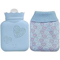 340 ml/525 ml Tragbarer Winter-Wärme-Wassersack mit Strickbezug, Schmerzlinderung, Wärmetherapie und Wärme-Wasserbeutel... preisvergleich bei billige-tabletten.eu