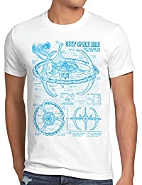 style3 Deep Space Nine Herren T-Shirt trek trekkie star