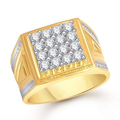 MEENAZ Jewellery Valentine Birthday Gifts Styish Gold Jewellery Rings for Men Man Boys Gents Boyfriend Ring -FR457 (20)