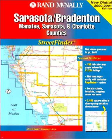 Rand McNally Sarasota/Brandenton Streetfinder: Manatee, Sarasota & Charlotte Counties (Rand McNally Streetfinder) - Charlotte Nc Karte