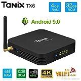 SreeTeK X96 Tanix TX6 Allwinner H6 4GB/32GB Android 9.0 Mini PC 2.4GHz/5GHz 4K 1080P Bluetooth Smart TV Box TX3 Mini X96 Mini MXQ Pro