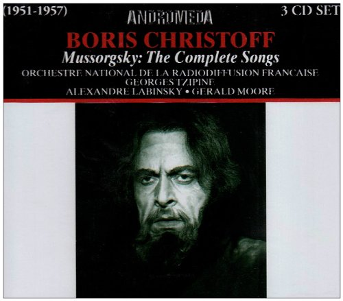 Modeste moussorgski intégrale des melodies