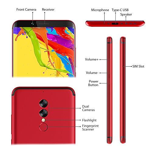 UMIDIGI S2 Lite  64GB Smartphone libre barato  6 0 pulgadas HD  pantalla completa 18  9  5100mAh- Face ID-1 5GHz Octa Core -4GB RAM   64GB ROM  16 0MP