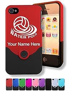 Gravure Coque pour iPhone 4/4S Motif WATER-POLO, de WATERPOLO personnalisé gratuit