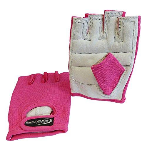 Best Body Nutrition Power Handschuh, Mehrfarbig (pink), M