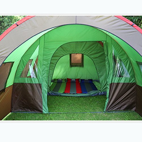 Large tunnel tent ... & Large tunnel tent outdoor camping multiplayer 8-10 person camping ...