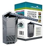 All Pond Solutions - Pompe filtre coin aquarium interne 650L/H 650-CIF