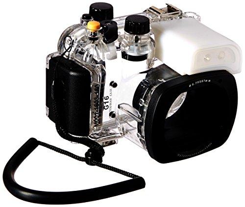 Polaroid SLR Dive spezifische Wasserdicht Unterwasser Gehäuse Fall für die Digitalkamera Canon G16
