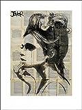 1art1 87925 Loui Jover - Etheral Poster Kunstdruck 80 x 60 cm