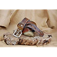 Cinturón Artesanal de Cuero Modelo Sur