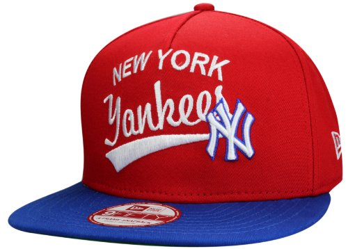 New York Yankees A-Frame Casquette Snapback de New Era - Collection: MLB Superscript