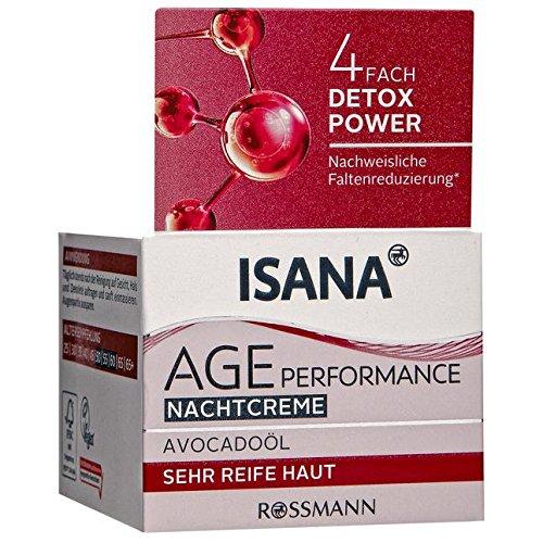 ISANA Age Performance Nachtcreme - 50 mL