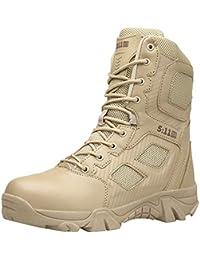 f7542d91b7 Zapatillas de Hombre de BaZhaHei Botas Militares y cómodas Botas Zapatos de  Hombre Antideslizantes Resistentes al
