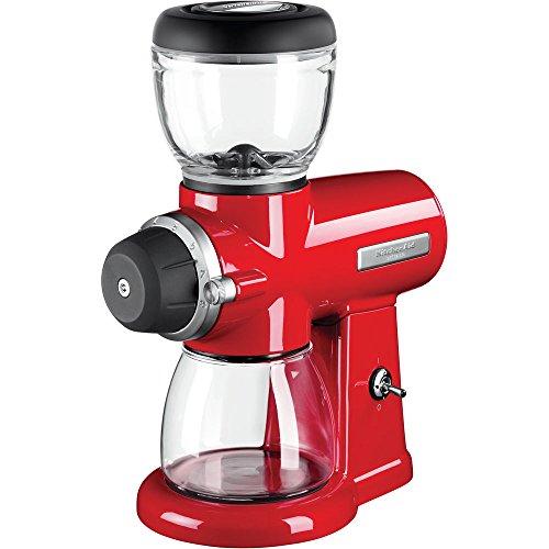 KitchenAid 5KCG0702EER, ARTISAN Kaffeemühle mit Scheibenmahlwerk, EMPIRE ROT
