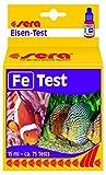 Sera 04610 Fe-Test 15 ml - Eisen Test für ca. 75 Messungen, misst zuverlässig und genau den Eisengehalt, für Süß- & Meerwasser, im Aquarium oder Teich