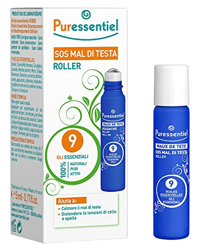 Puressentiel Roller Mal di Testa - 5 ml