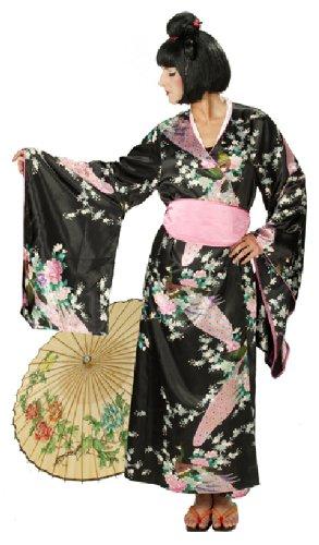 Rubie's Karneval Damen Kostüm Japanerin Kimono Geisha Fasching Größe - Damen Geisha Kostüm