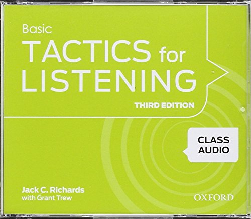 Tactics For Listening: Class Audio 1 3rd Edition