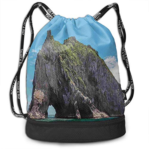 Cupsbags Famous Elephant Shape Rock Basketball Drawstring Bag Backpack Bundle Backpack